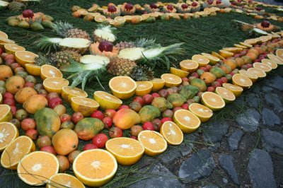 Fruit carpet