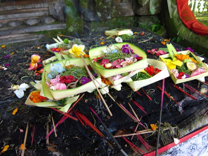 Bali offerings 2