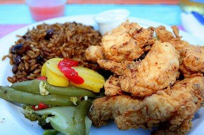 Guana cay abaco bahamas for Fish fry bahamas
