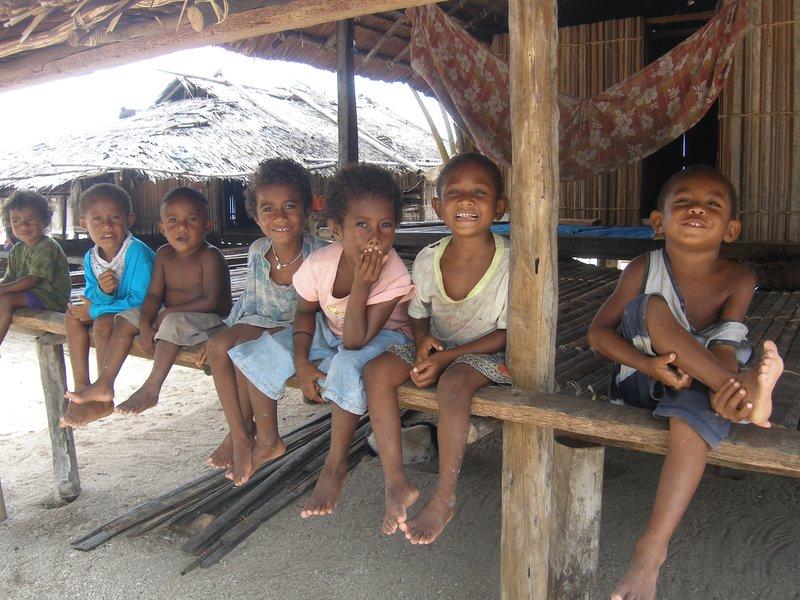 Kids in Boga Boga Village