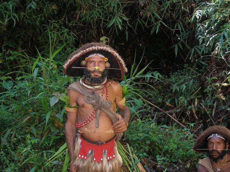 Huli Wig Man