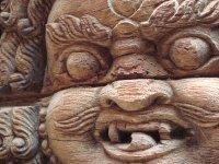 Kathmandu Durbar Square detail, Nepal