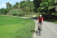 Cycling in Bohol