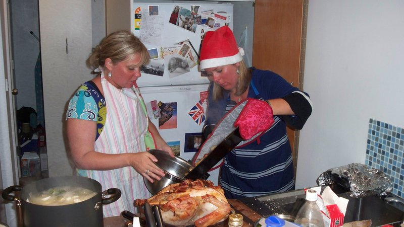 Coralie & Emily get cooking