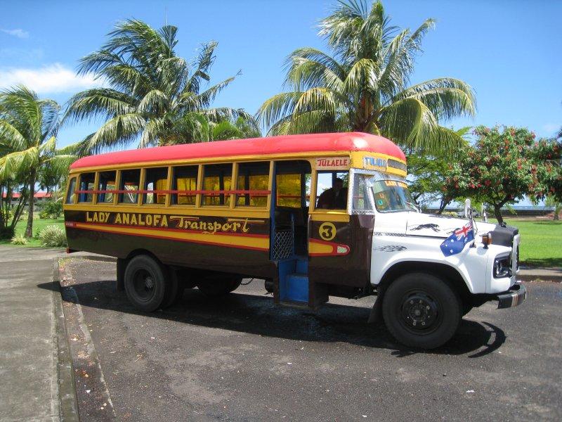 Bus in Apia