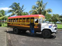 Bus in Apia