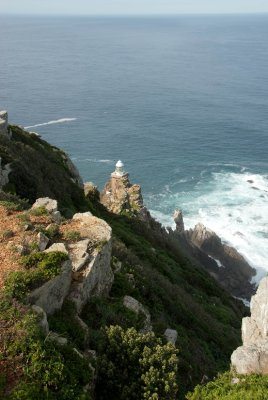 Cape Point lighthouse.
