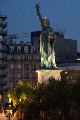 Paris' Statue of Liberty