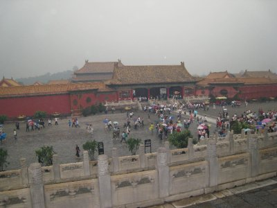 The main square of the Forbidden City.