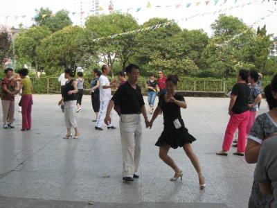Cha Cha in Xi'an.