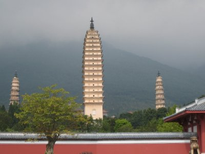 Dali is known for its Three Pagodas, which are supposed to have a phallic resemblance.