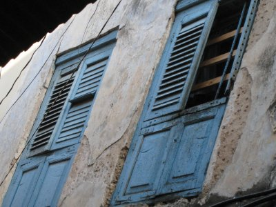 The architecture is beautifully old in Stone Town.
