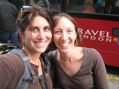 Elana, a friend from Hebrew School, was kind enough to help me find lodging in Paris for my anniversary. She has lived in London for the past three years with her husband, but is now en route back to NYC.