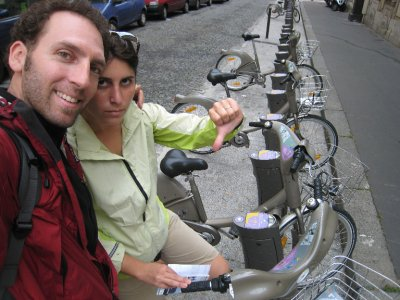 Note to those traveling to Europe - chip and pin credit cards are in and if you don't have one, expect to get denied at a few locations, like we did trying to rent a Velib bicycle.