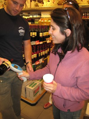 I love supermarkets and buying local goods. In Amsterdam you get a personal zapper to tag your food as you shop. It was genius and a little too much fun!