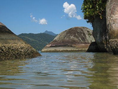 Most of Paraty's islands remain peaceful and vacant, although some do have hotels, restaurants and homes on them.