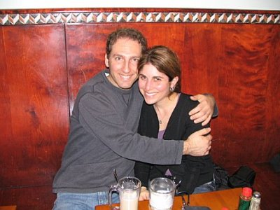 Our first picture together on March 9, 2007, in San Francisco where I surprised her. We met March 2, 2007, in Boston. We've come a long way since then!