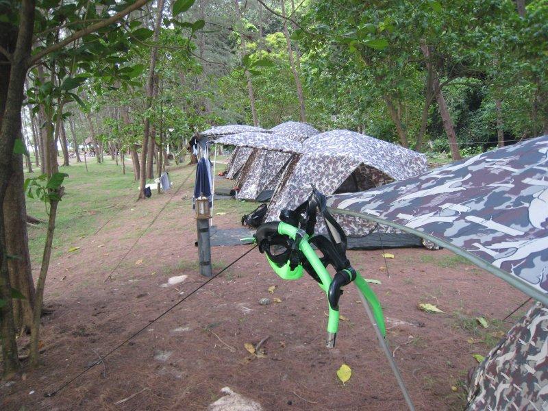 TH Bamboo Island tents