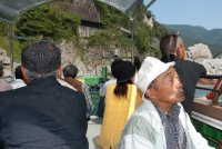 Oboke, boat ride