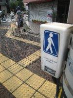 Kochi, sidewalk for the blind