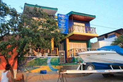 Hostel at Taganga