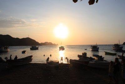 Sunset at Taganga