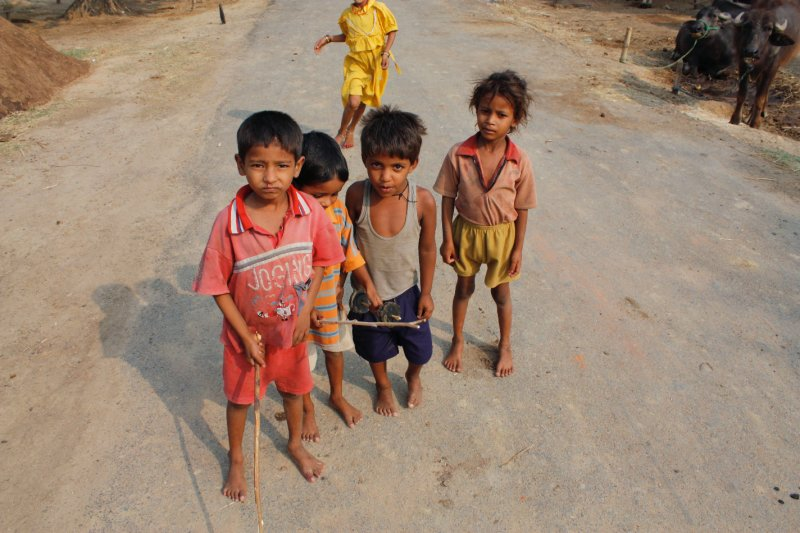 Bodgaya Village Kids
