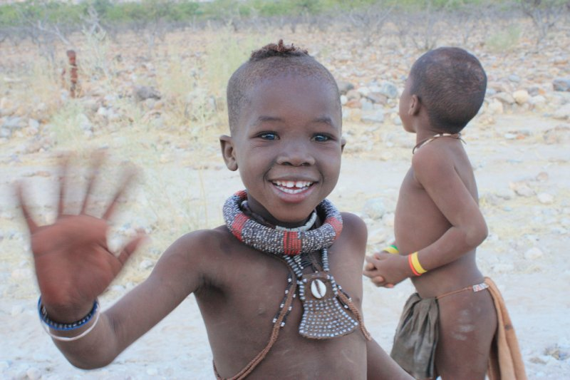 Local Himba Kids