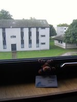2. At a conference in Aberdeen