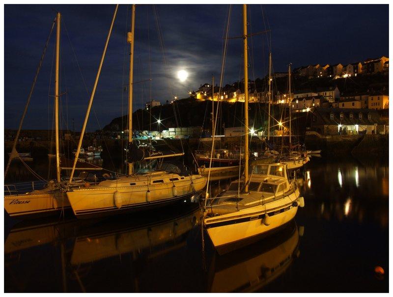 Meva Harbour by Night.