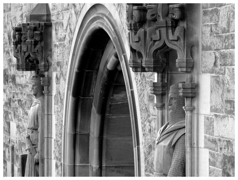 Sentries at Edinburgh Castle..
