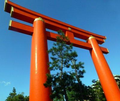 Heian torii gate
