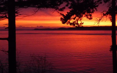 Sunrise on Gabriola