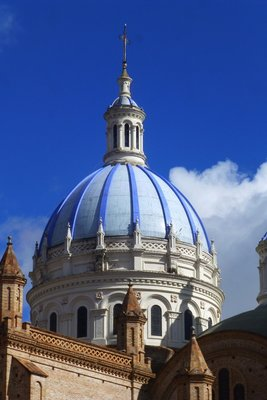 Dome of Cathedral Cuenca