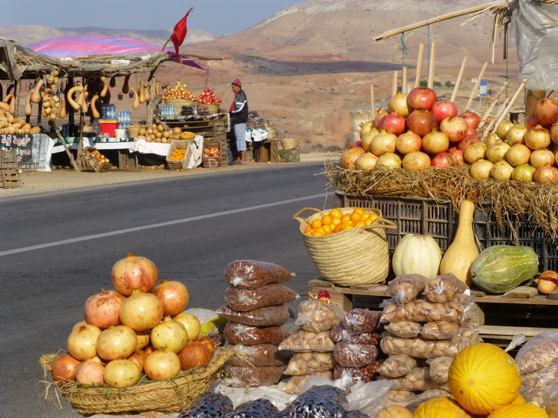 Roadside sellers