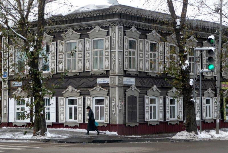 Wooden Architecture Irkutsk