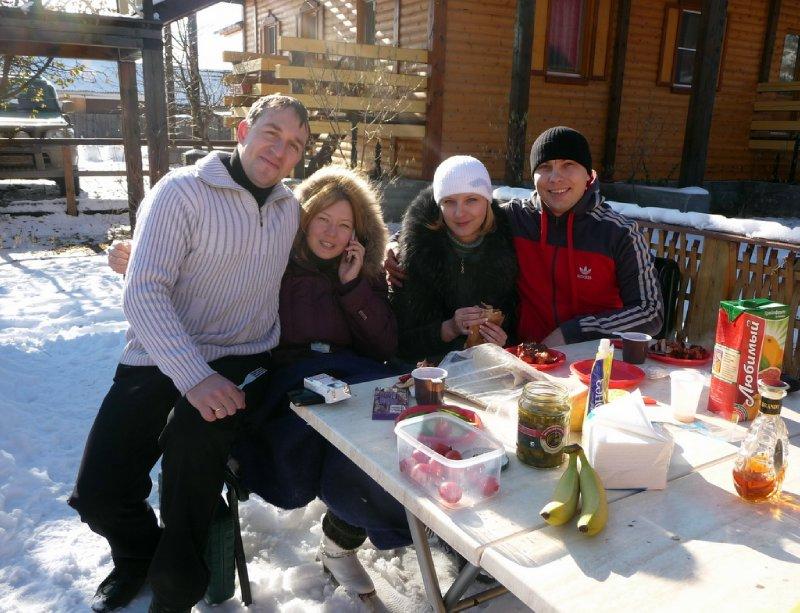 Siberian picnic