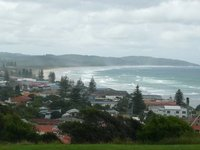 View of Lennox Head from North Creek Road