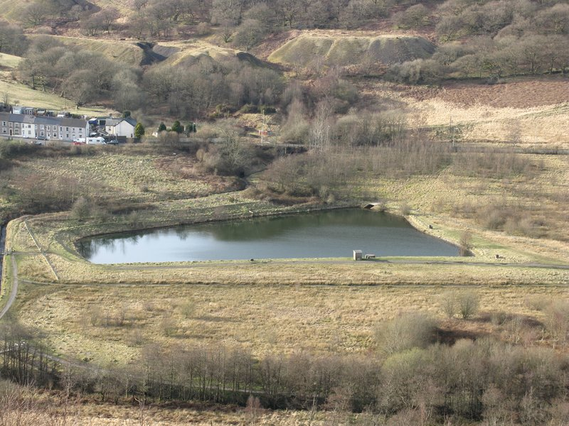 Reservoir in Dare Valley Country Park