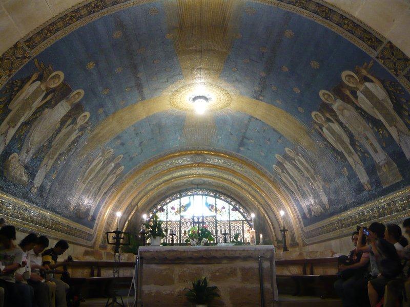 Basilica of Transfiguration, Mount Tabor (Nazareth, Israel ...
