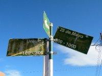 Road signs - San Juan