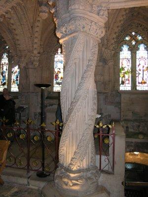 Apprentice Pillar inside Chapel