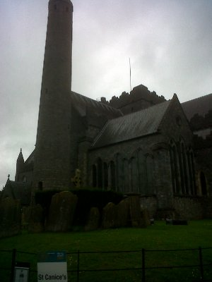St Canice's cathedral, Kilkenny.