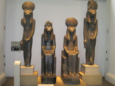 Seated Sakhmets