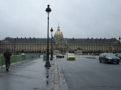 Hotel des Invalides, which houses the army museum
