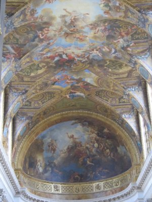 The roof of the  Royal family chapel