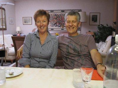 Liz and David
