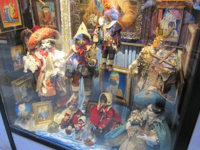 Beautifully crafted marionettes