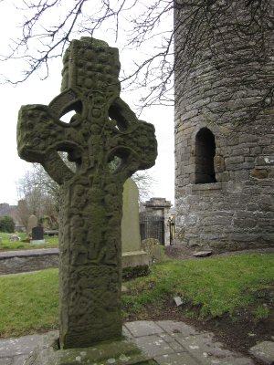 The best preserved South Cross next to the round tower