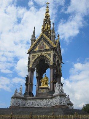 The impressive Prince Albert memorial